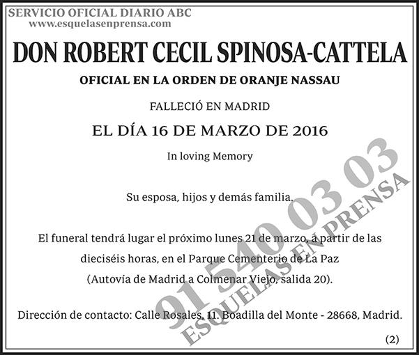 Robert Cecil Spinosa-Cattela